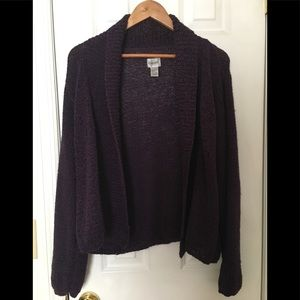 🌿Chico's Cozy Sweater Eggplant Size Large 2